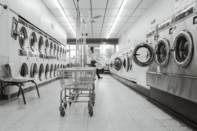 Water treatment for laundromats